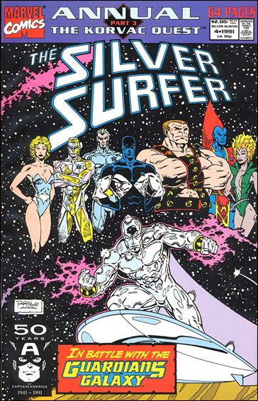 Silver Surfer Annual 4-A by Marvel