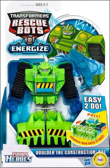 Transformers Rescue Bots Energize (Transforming)  Boulder the Construction-Bot by Playskool