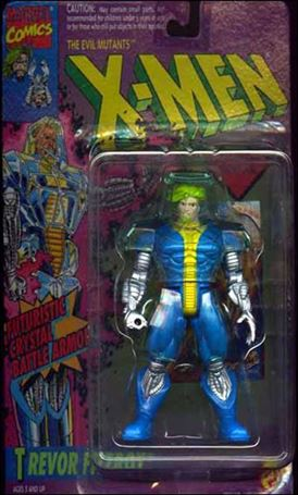 "X-Men 5"" Action Figures Trevor Fitzroy"
