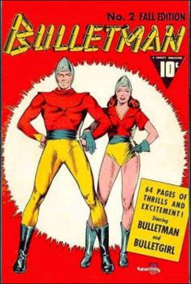 Bulletman 2-A by Fawcett