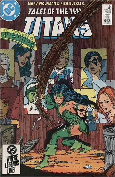 Tales of the Teen Titans 52-A by DC