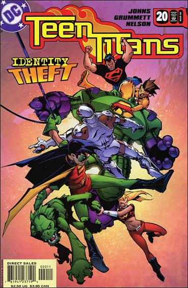 Teen Titans (2003) 20-A by DC