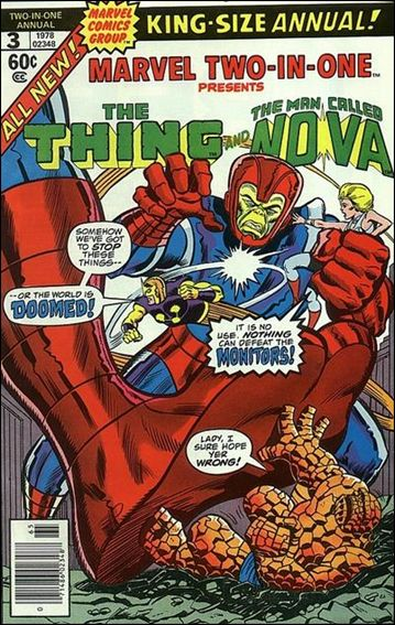 Marvel Two-in-One Annual 3-A by Marvel