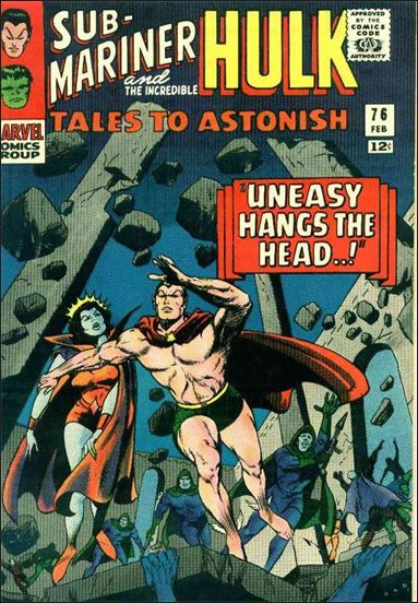 Tales to Astonish (1959) 76-A by Marvel