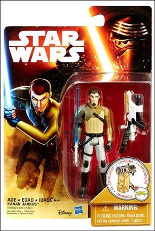 "Star Wars: The Force Awakens 3 3/4"" Basic Action Figures Kanan Jarrus"
