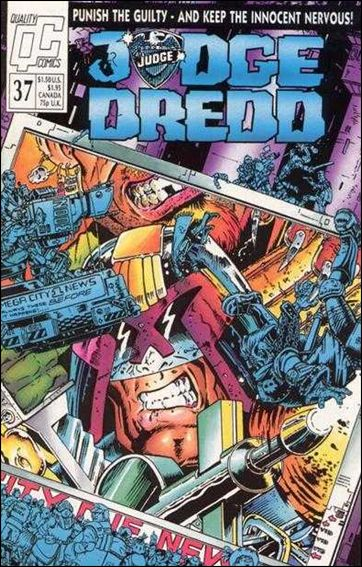 Judge Dredd (1986) 37-A by Quality Comics