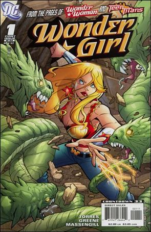 Wonder Girl (2007) 1-A