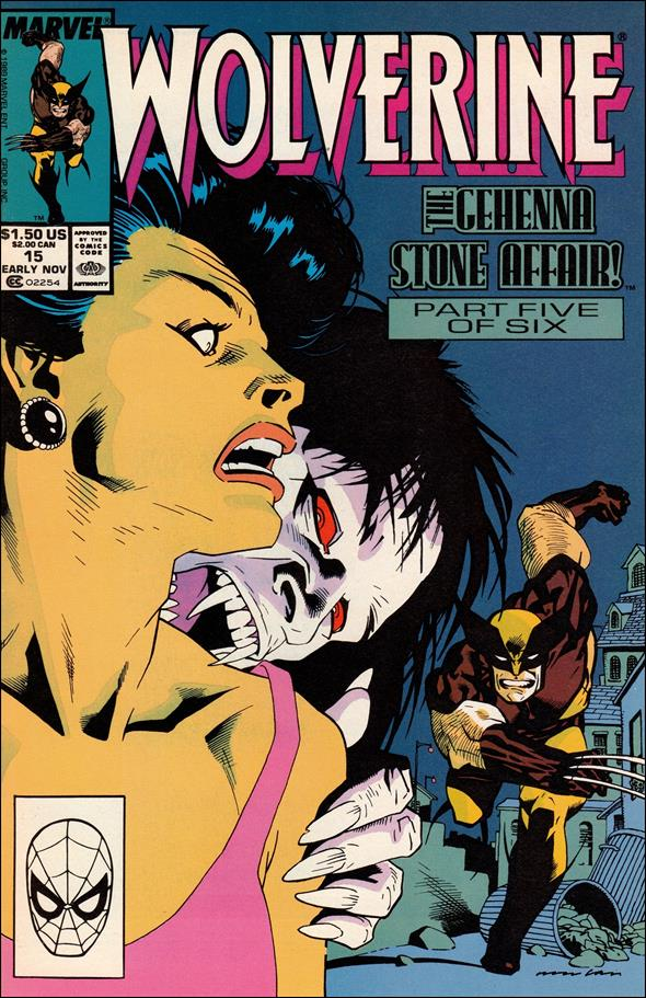 Wolverine (1988)  15-A by Marvel