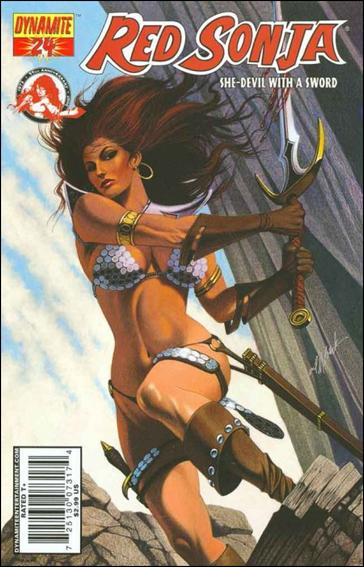 Red Sonja (2005) 24-E by Dynamite Entertainment
