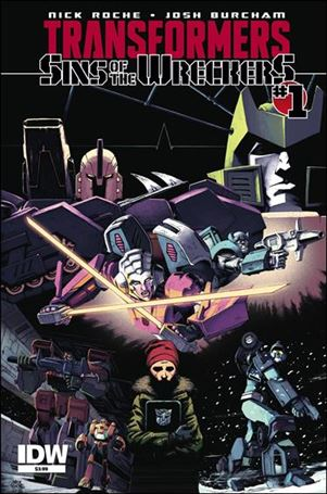 Transformers: Sins of the Wreckers 1-A