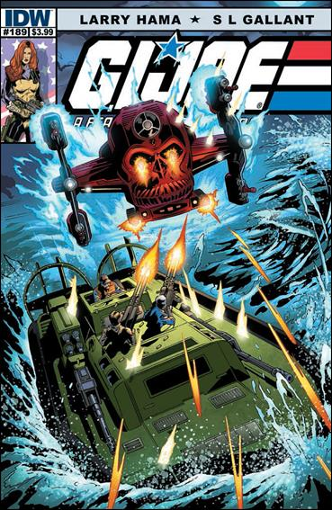 G.I. Joe: A Real American Hero 189-A by IDW