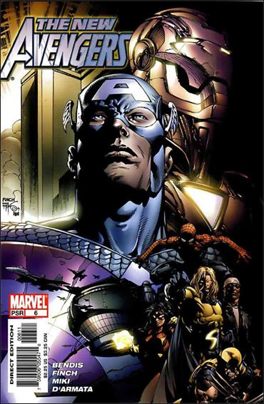 New Avengers (2005) 6-A by Marvel