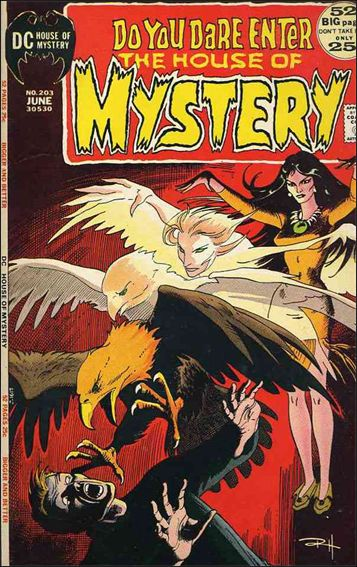 House of Mystery (1951) 203-A by DC