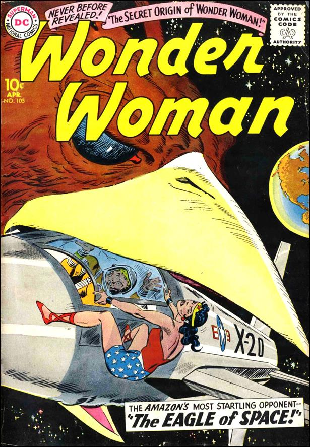 Wonder Woman (1942) 105-A by DC