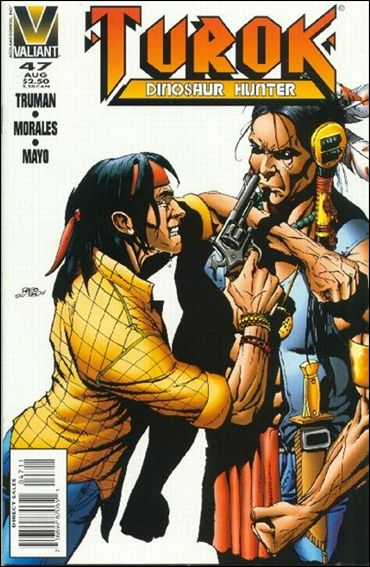 Turok: Dinosaur Hunter 47-A by Valiant