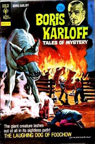 Boris Karloff Tales of Mystery 48-A by Gold Key