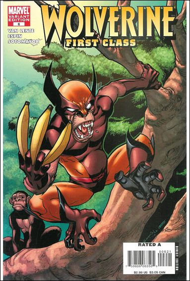 Wolverine: First Class 6-B by Marvel