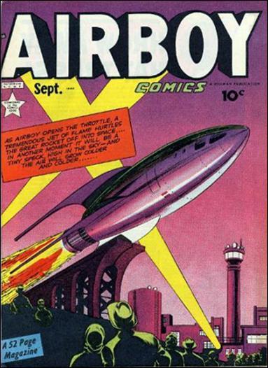 Airboy Comics (1949) 8-A by Hillman