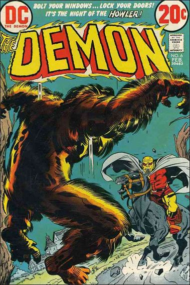 Demon (1972) 6-A by DC
