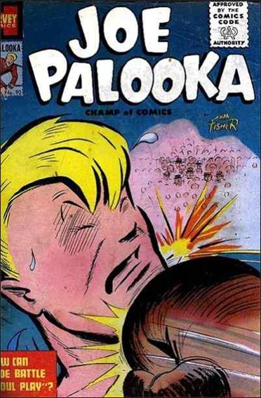 Joe Palooka (1945) 92-A by Harvey