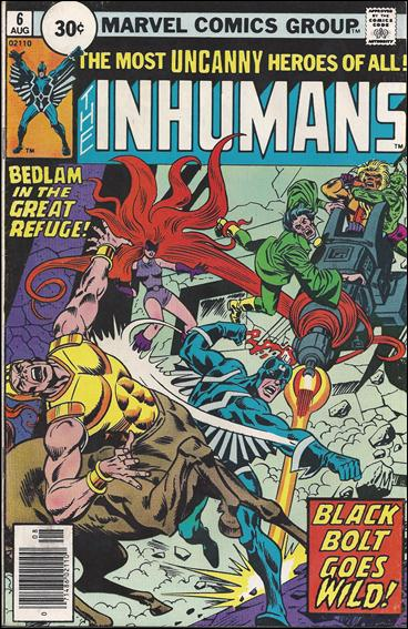 Inhumans (1975) 6-B by Marvel