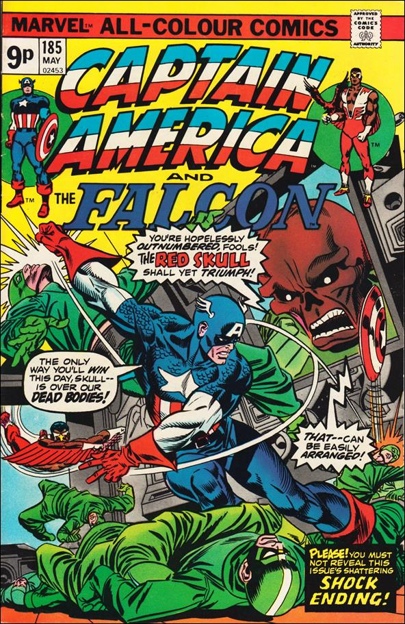 Captain America (1968) 185-B by Marvel