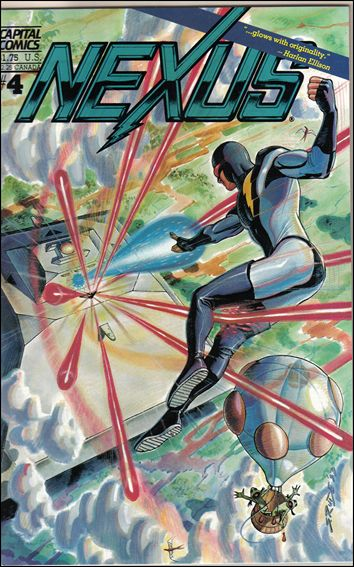 Nexus (1983) 4-A by Capital Comics