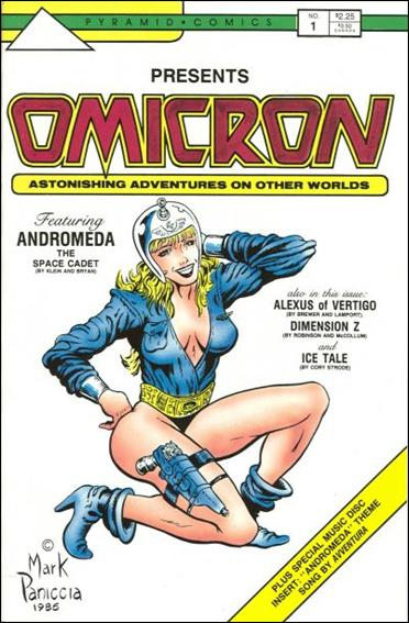 Omicron: Astonishing Adventures on Other Worlds 1-A by Pyramid