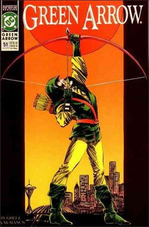 Green Arrow (1988) 51-A