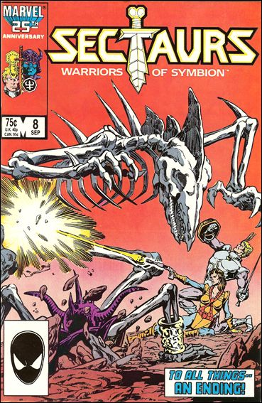 Sectaurs (1985) 8-A by Marvel