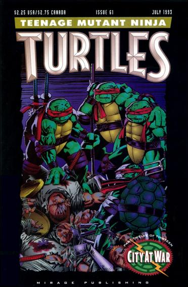 Teenage Mutant Ninja Turtles (1984) 61-A by Mirage