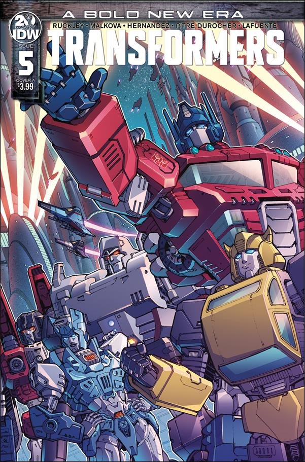 Transformers (2019) 5-A by IDW
