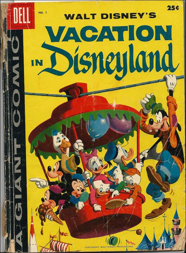 Vacation in Disneyland 1-A by Dell