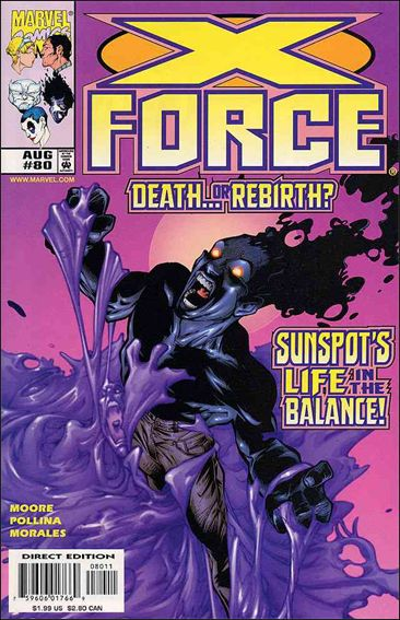 X-Force (1991) 80-A by Marvel