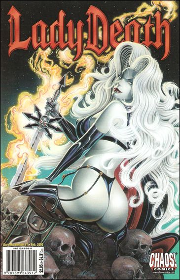 Lady Death: Dark Millennium 1-A by Chaos
