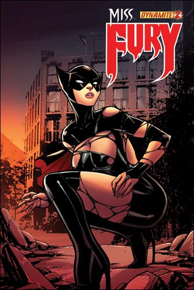 Miss Fury (2013) 2-E by Dynamite Entertainment