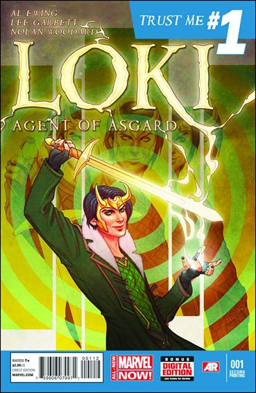 Loki: Agent of Asgard 1-E by Marvel