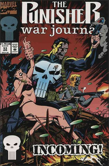 Punisher War Journal (1988) 53-A by Marvel