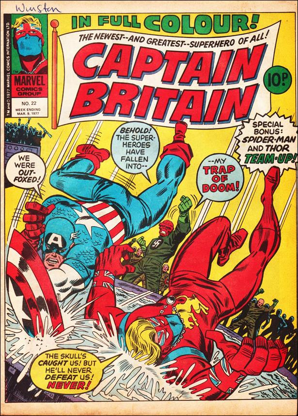 Captain Britain (UK) (1976) 22-A by Marvel UK