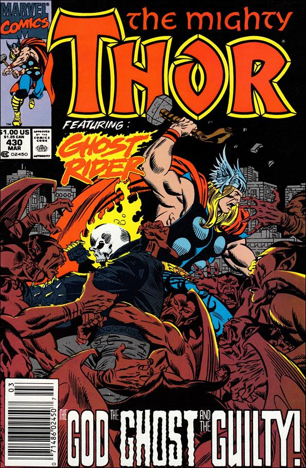 Thor (1966) 430-A by Marvel