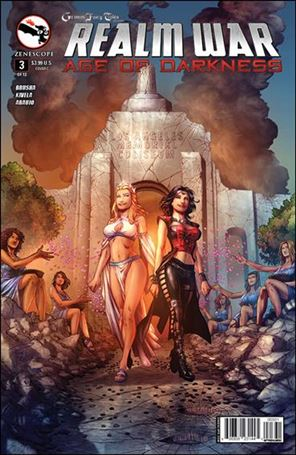 Grimm Fairy Tales Presents Realm War: Age of Darkness 3-C