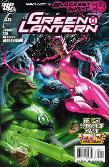 Green Lantern (2005) 40-B by DC