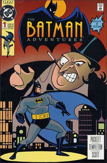 Batman Adventures (1992) 1-A by DC