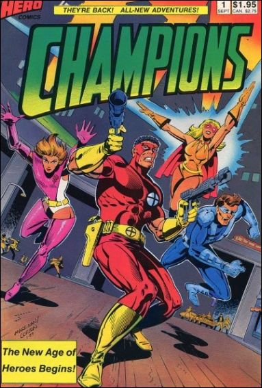 Champions (1987) 1-A by Hero Comics