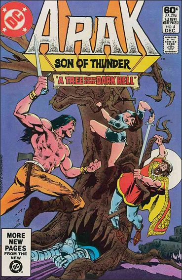 Arak Son of Thunder 4-A by DC