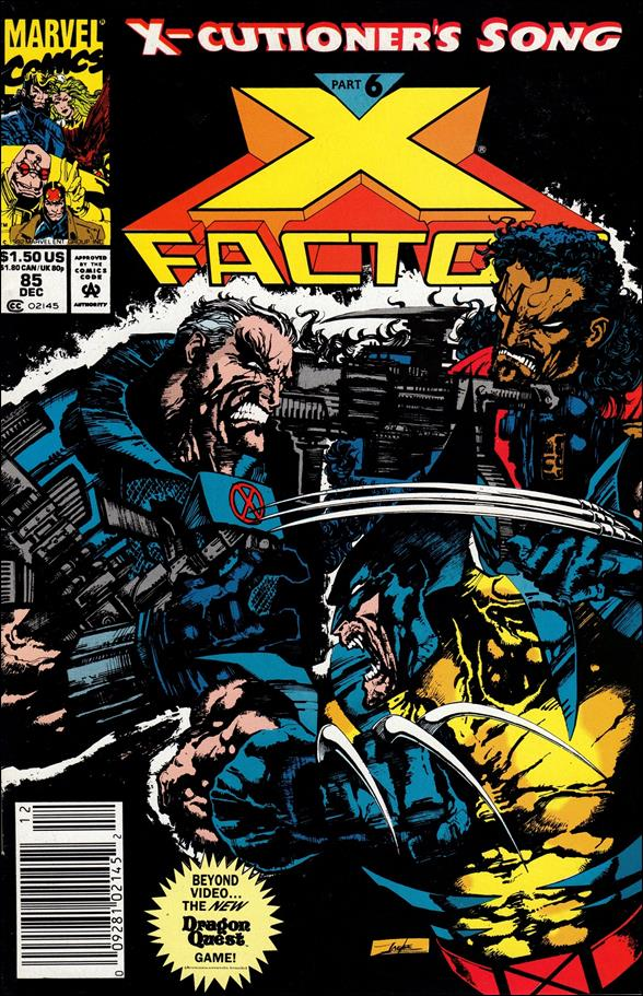 X-Factor (1986) 85-B by Marvel