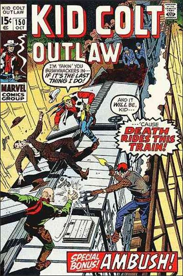 Kid Colt Outlaw  150-A by Marvel