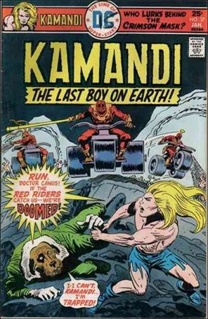 Kamandi, the Last Boy on Earth 37-A