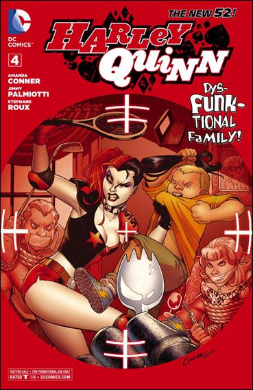 Harley Quinn (2014) 4-C by DC