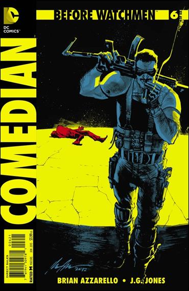 Before Watchmen: Comedian 6-D by DC